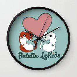 Belette Le Kids Wall Clock