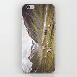 Tyrolean Haflinger horses I iPhone Skin