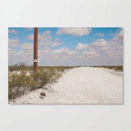 This Way to Marfa Canvas Print
