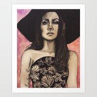 Forever Lana  Art Print