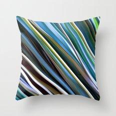 Beach Rye Throw Pillow