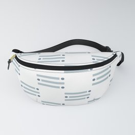 Azure Blue Ray Fanny Pack