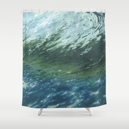 Cresting Wave Shower Curtain