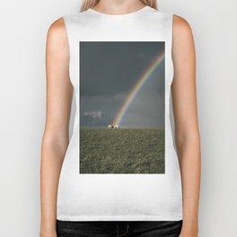 Rainbow II  - Landscape and Nature Photography Biker Tank