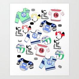 Ice Hockey Winter sports Art Print