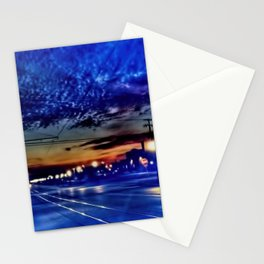 Morning Travel in Kenosha Stationery Cards
