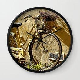 Summertime retreat Wall Clock