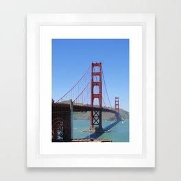 Good Old Golden Gate Framed Art Print