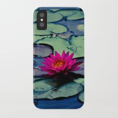 Twilight at the Lily Pond iPhone X Slim Case
