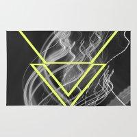 smoke Area & Throw Rugs featuring smoke by ulas okuyucu