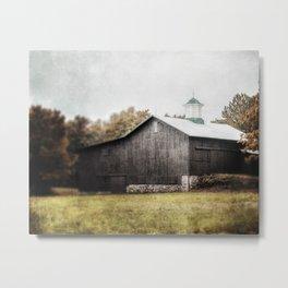 The Grey Barn Metal Print