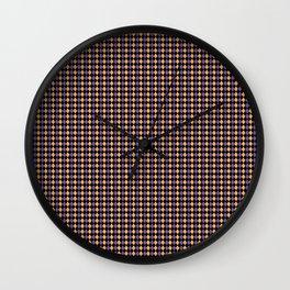 orangepurple mood Wall Clock