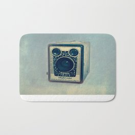 Kodak Brownie Blues Bath Mat