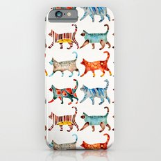 Cat Collection: Watercolor Slim Case iPhone 6