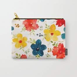 Warm flowers Carry-All Pouch