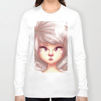 pastel Long Sleeve T-shirts featuring pastel by ebazii