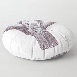 BALLPEN ELEPHANT 1 Floor Pillow