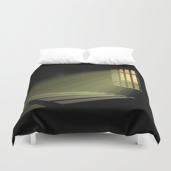 In 30 Days Time Duvet Cover