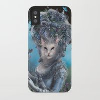 marie antoinette iPhone & iPod Cases featuring Marie Antoinette by Christina Hess