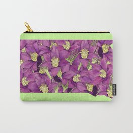 South Dakota in Flowers Carry-All Pouch