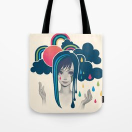 Sun And Rain Tote Bag
