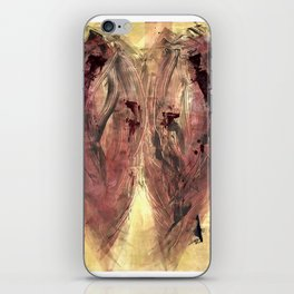 Red Flight iPhone Skin