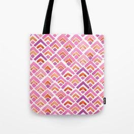 Sewatdee Pink Pattern Tote Bag