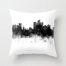 Detroit Rise From The Ashes Throw Pillow