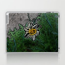 Surreal White Daisy  Laptop & iPad Skin