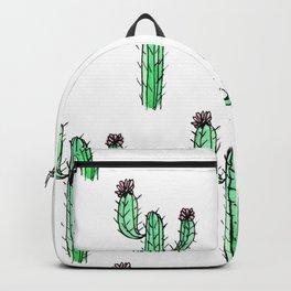Cactus Flower II Pattern Backpack