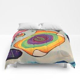 Trippin' Yeti Comforters