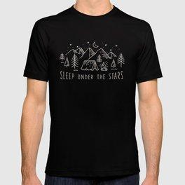 Sleep under the stars T-shirt