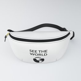 see the world Fanny Pack