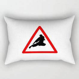 Street Fight Rectangular Pillow