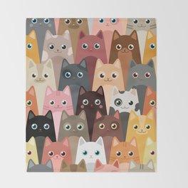 Cats Pattern Decke