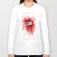 evil dead Long Sleeve T-shirts featuring Evil Dead 2013 by Dukesman