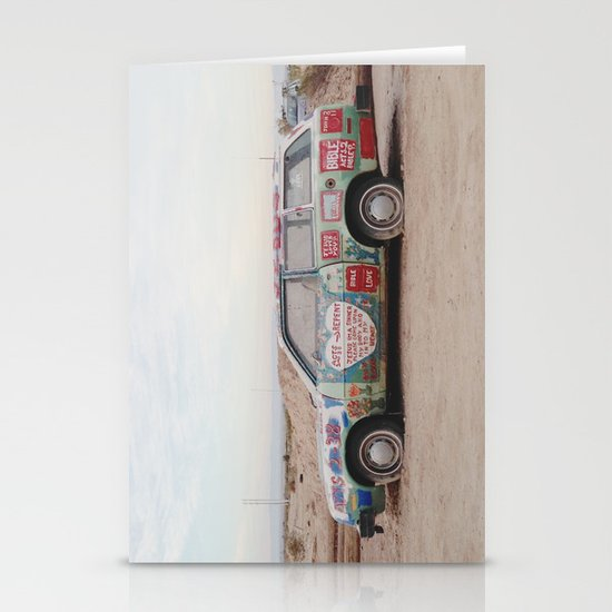 Car Art Stationery Cards