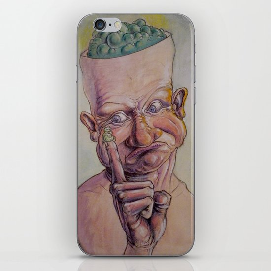 Boogers? iPhone & iPod Skin
