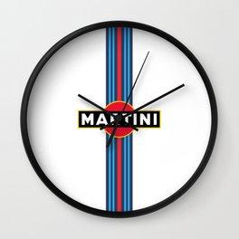 Martini Racing Wall Clock