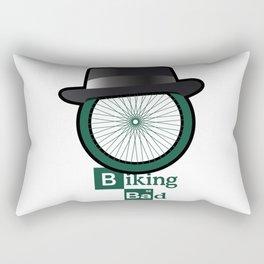 Breaking Bad parody: biking bad Rectangular Pillow