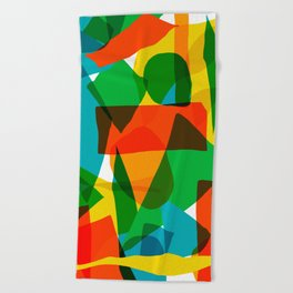 Super Colors Beach Towel