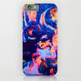 Neon Inner World iPhone Case