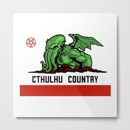 Cthulhu Country Metal Print