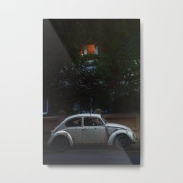 White bug Metal Print