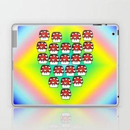 Love Mushroom Laptop & iPad Skin