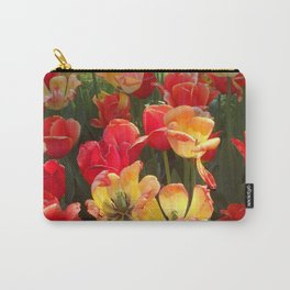 Theory of Tulips Carry-All Pouch