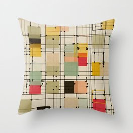 embrace uncertainty Throw Pillow