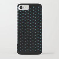 polygon iPhone & iPod Cases featuring Polygon by Evi Radauscher
