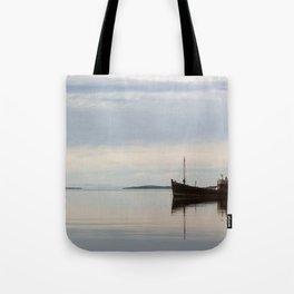 Old Fishing Trawler Tote Bag