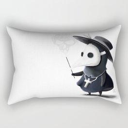 The little black Death Rectangular Pillow